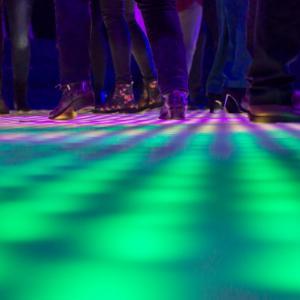 Verlichte vloeren